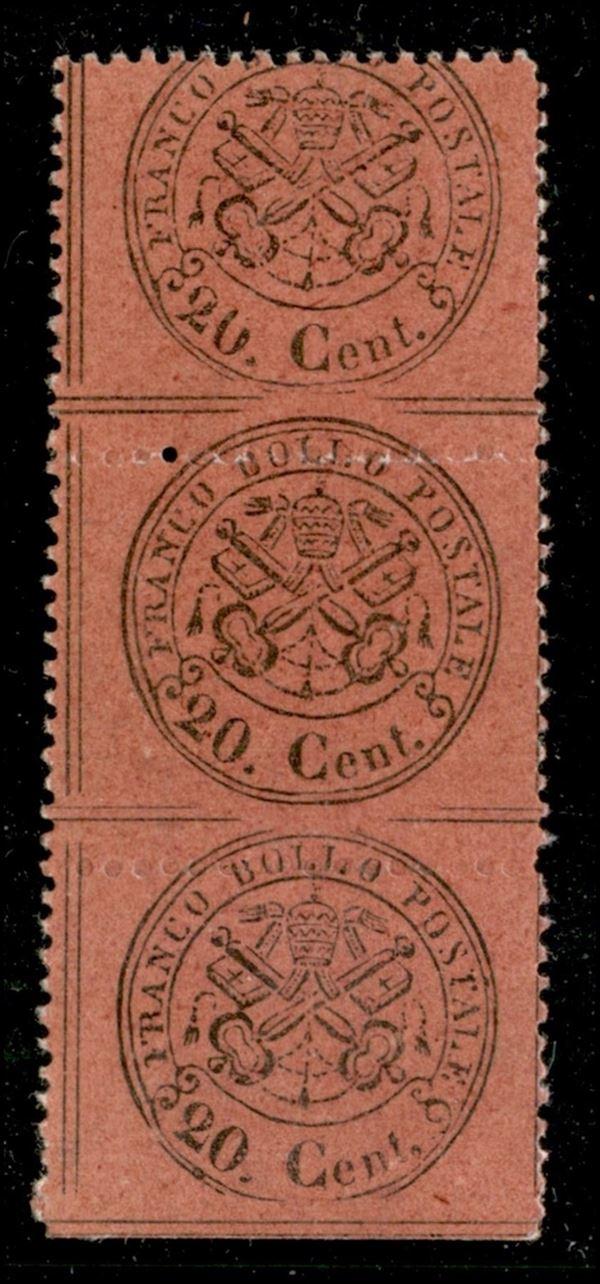 ITALIA / Antichi Stati Italiani / Stato pontificio / Posta ordinaria