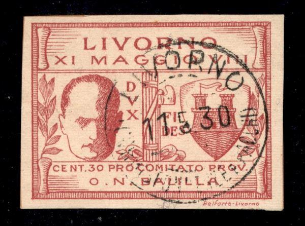 ITALIA / Emissioni Locali / Livorno / Posta ordinaria