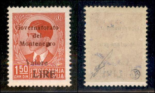 ITALIA / Occupazioni II guerra mondiale / Montenegro / Posta ordinaria
