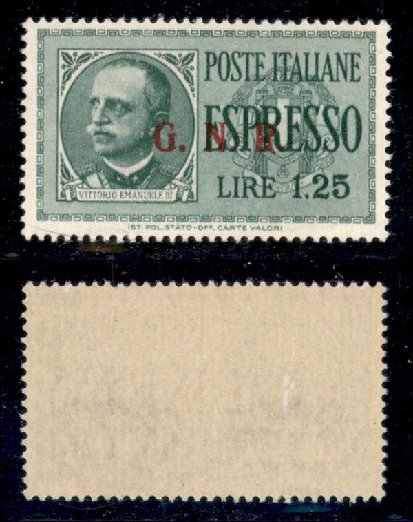 ITALIA / RSI / G.N.R. Brescia / Espressi