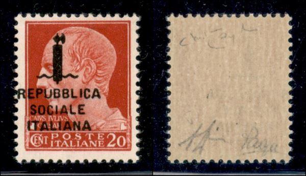 ITALIA / RSI / Provvisori / Posta ordinaria