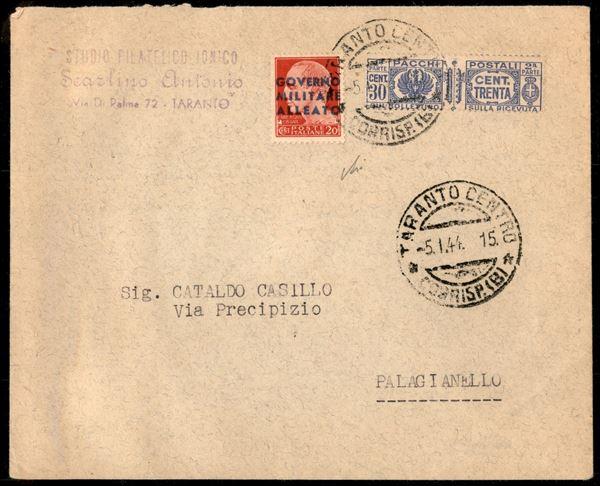 ITALIA / Occupazioni straniere di territori Italiani / Occupazione Anglo-Americana / Napoli / Posta ordinaria