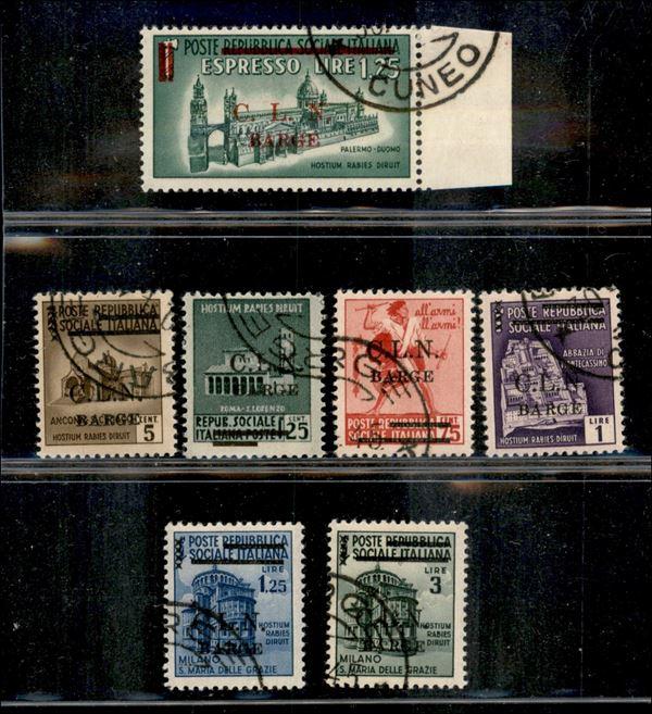 ITALIA / C.L.N. / Barge / Posta ordinaria