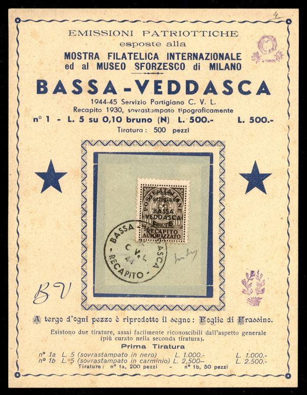 ITALIA / C.L.N. / Bassa Vedasca / Recapito autorizzato