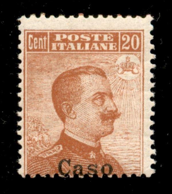 ITALIA / Colonie / Egeo / Caso / Posta ordinaria