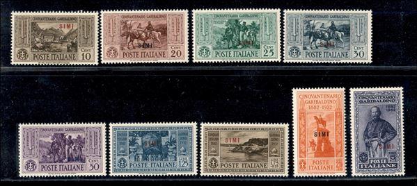 ITALIA / Colonie / Egeo / Simi / Posta ordinaria