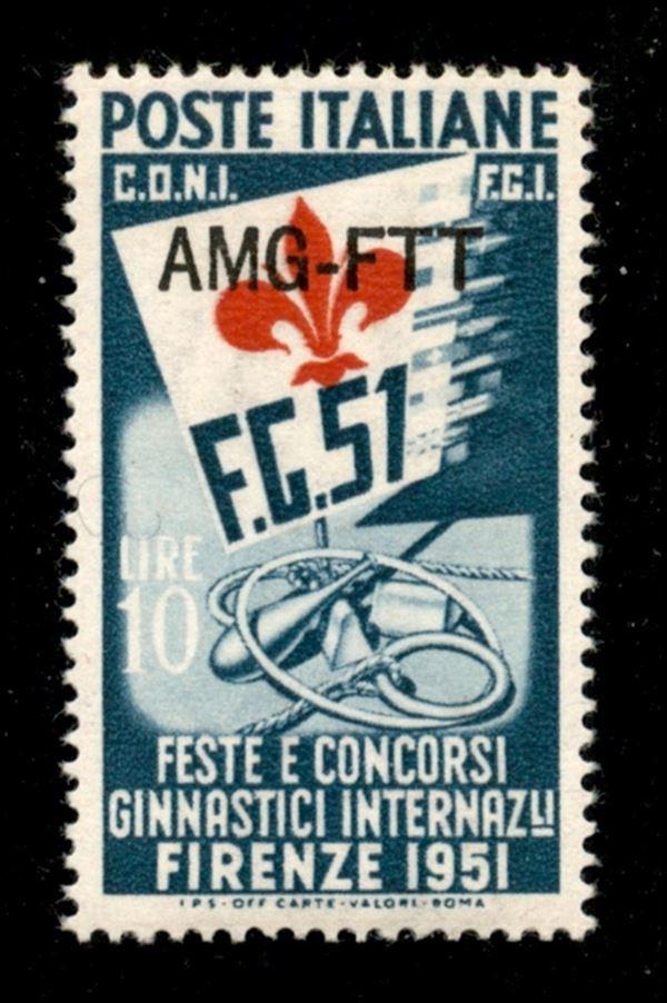 ITALIA / Trieste  / Trieste AMG FTT / Posta ordinaria