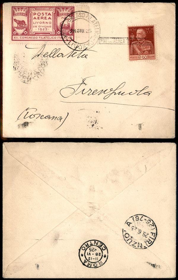 ITALIA / Regno / Aerogrammi  (1925)  - Asta Asta Pubblica-Live Posta Aerea - Auction Gallery