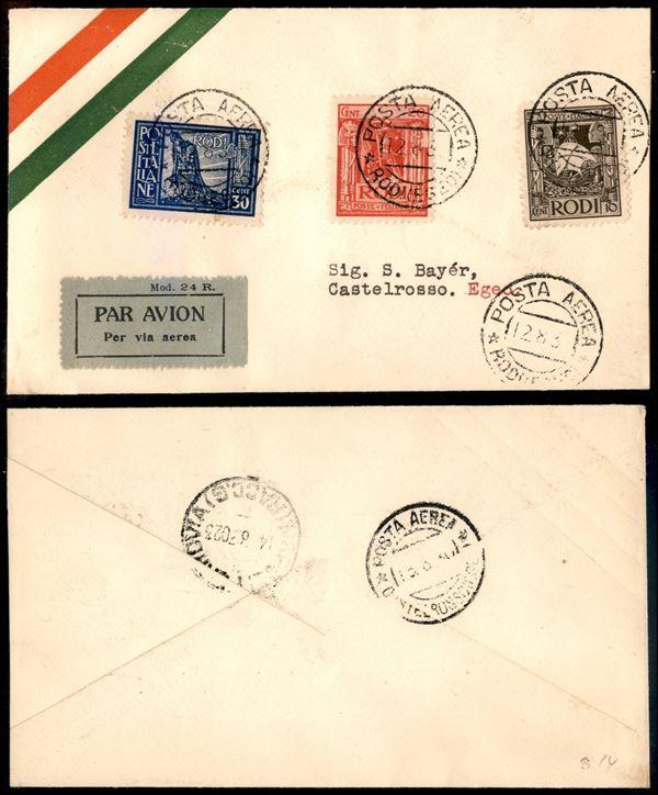 ITALIA / Regno / Aerogrammi  (1930)  - Asta Asta Pubblica-Live Posta Aerea - Auction Gallery