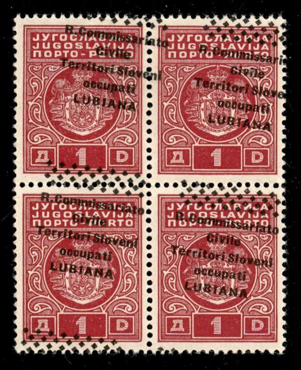 ITALIA / Occupazioni II guerra mondiale / Lubiana / Posta ordinaria