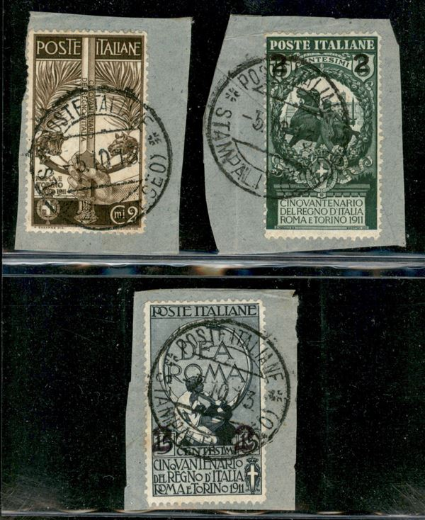 ITALIA / Colonie / Egeo / Stampalia / Posta ordinaria