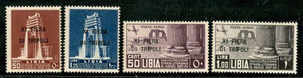 ITALIA / Colonie / Libia / Posta ordinaria + aerea