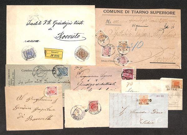 AUSTRIA / Territori italiani d'Austria / Posta ordinaria