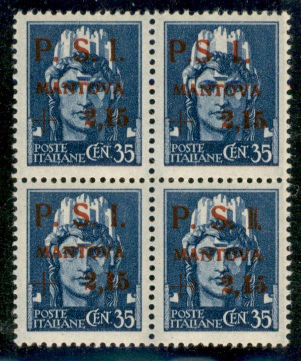 ITALIA / C.L.N. / Mantova / Posta ordinaria