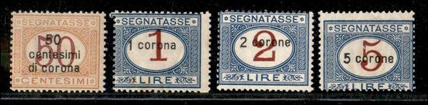 ITALIA / Occupazioni I guerra mondiale / Dalmazia / Segnatasse