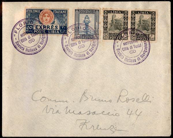 ITALIA / Colonie / Libia / posta ordinaria + espressi