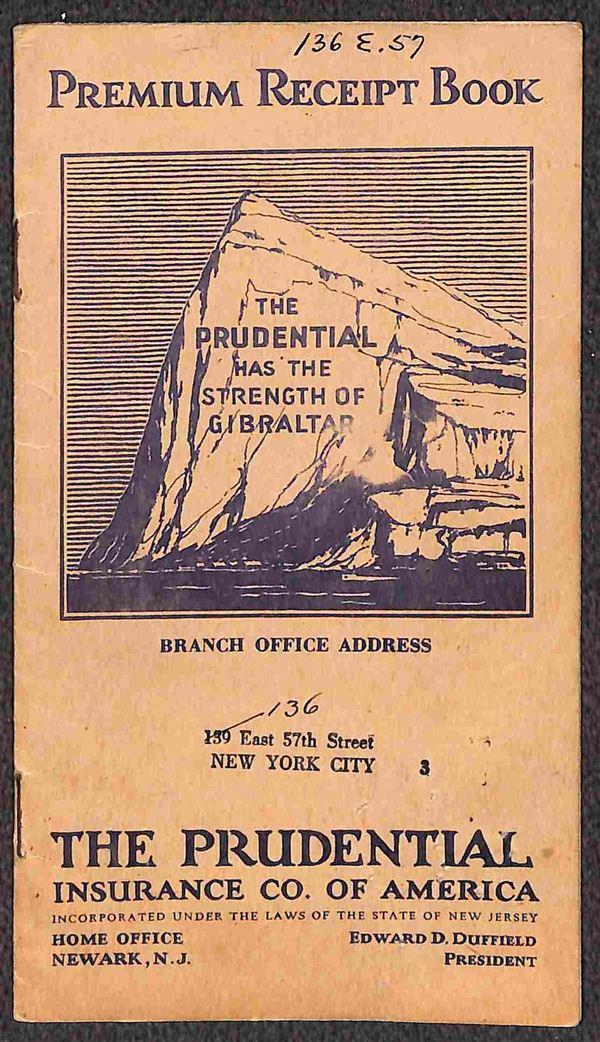 1929/1932 - Libretto Assicurativo