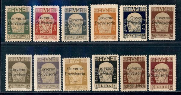 ITALIA / Occupazioni I guerra mondiale / Fiume / Posta ordinaria