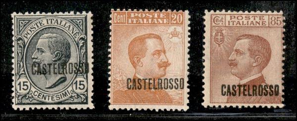 ITALIA / Colonie / Castelrosso / Posta ordinaria