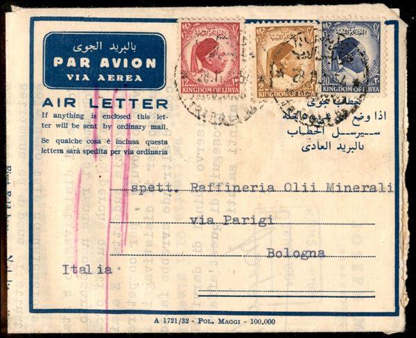 ITALIA / Colonie / Regno unito della Libia / Posta ordinaria