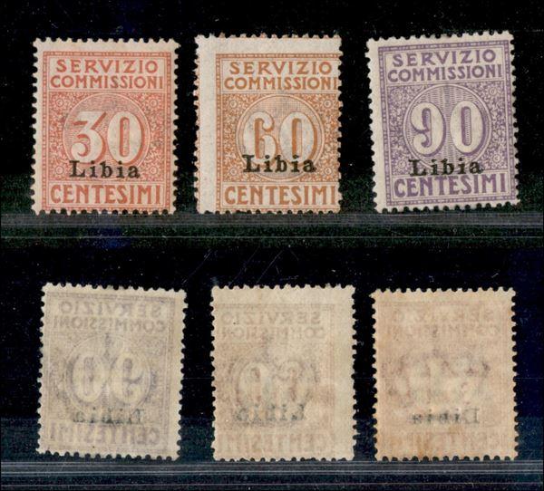 ITALIA / Colonie / Libia / Servizio commissioni