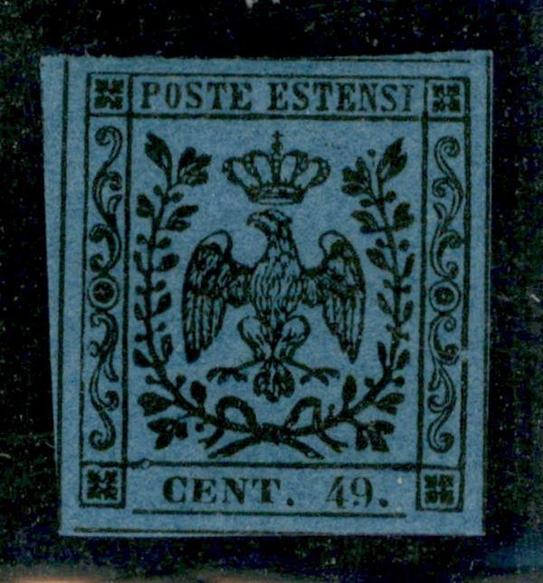 ITALIA / Antichi Stati Italiani / Modena / Posta ordinaria