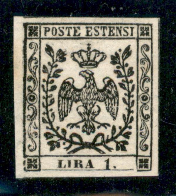 ITALIA / Antichi Stati Italiani / Modena / Prova d'Archivio