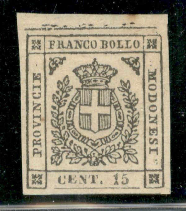 ITALIA / Antichi Stati Italiani / Modena / Governo Provvisorio / Posta ordinaria