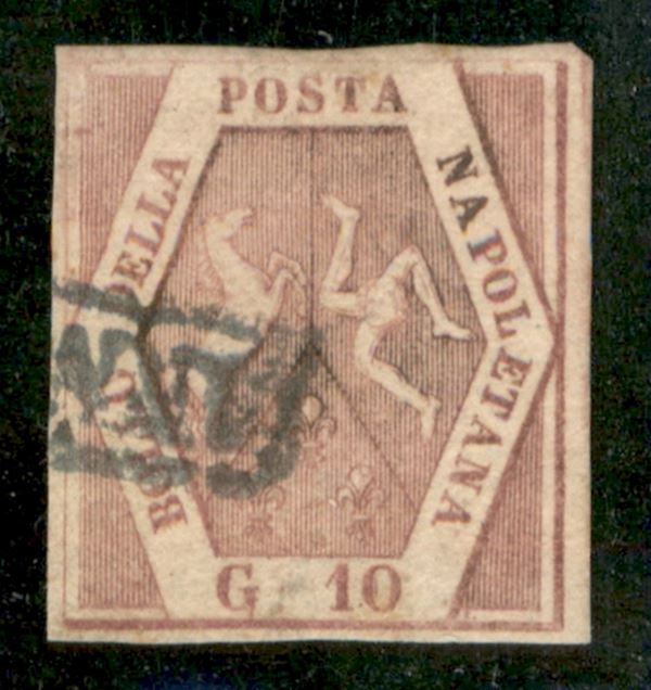 ITALIA / Antichi Stati Italiani / Napoli / Posta ordinaria