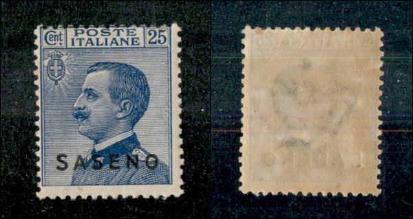 ITALIA / Colonie / Saseno / Posta ordinaria