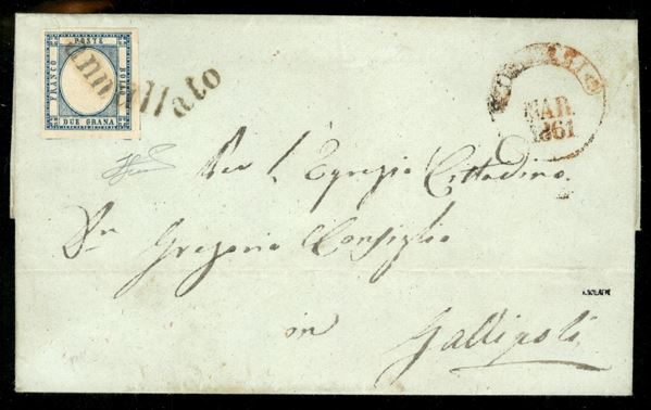 ITALIA / Antichi Stati Italiani / Napoli / Province Napoletane / Posta ordinaria