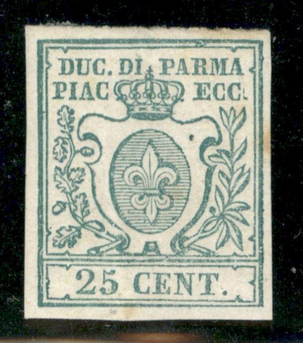 ITALIA / Antichi Stati Italiani / Parma / Prova d'Archivio