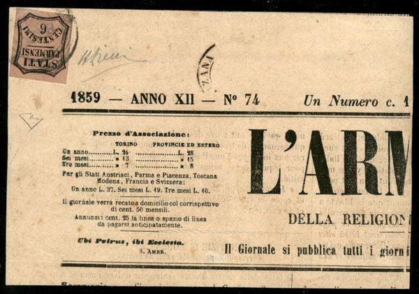 ITALIA / Antichi Stati Italiani / Parma / Segnatasse