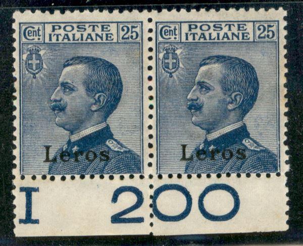 ITALIA / Colonie / Egeo / Lero / Posta ordinaria
