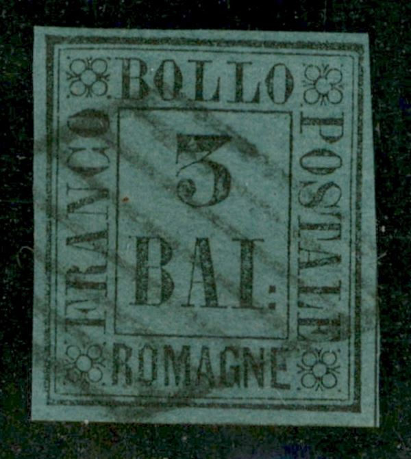 ITALIA / Antichi Stati Italiani / Romagne / Posta ordinaria