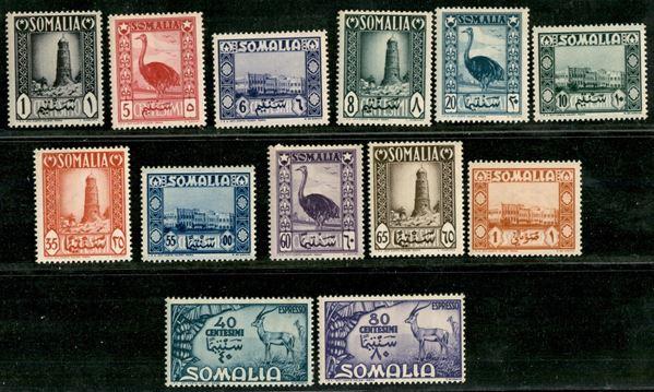 ITALIA / Occupazioni straniere delle colonie / Somalia A.F.I.S. / Posta ordinaria