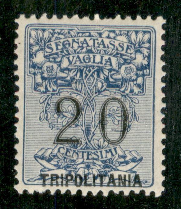 ITALIA / Colonie / Tripolitania / Segnatasse per vaglia