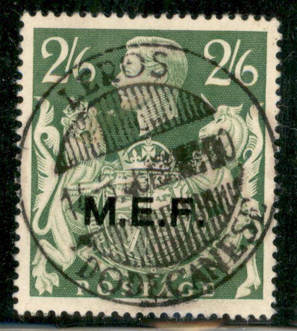 ITALIA / Occupazioni straniere delle colonie / Occupazione Britannica / M.E.F. / Posta ordinaria