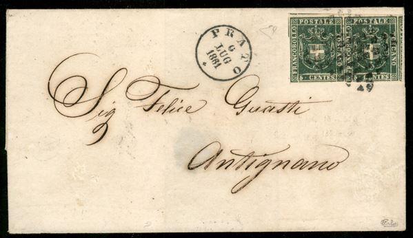 ITALIA / Antichi Stati Italiani / Toscana / Governo Provvisorio / Posta ordinaria