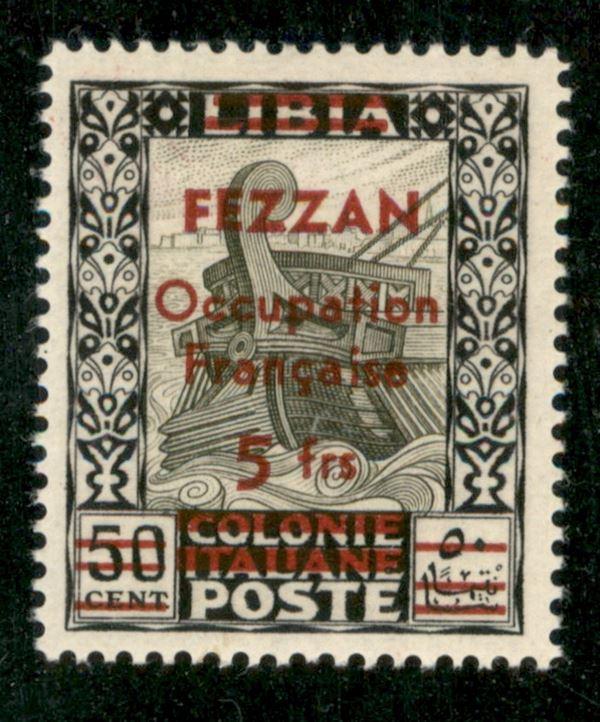ITALIA / Occupazioni straniere delle colonie / Occupazione Francese / Fezzan / Posta ordinaria