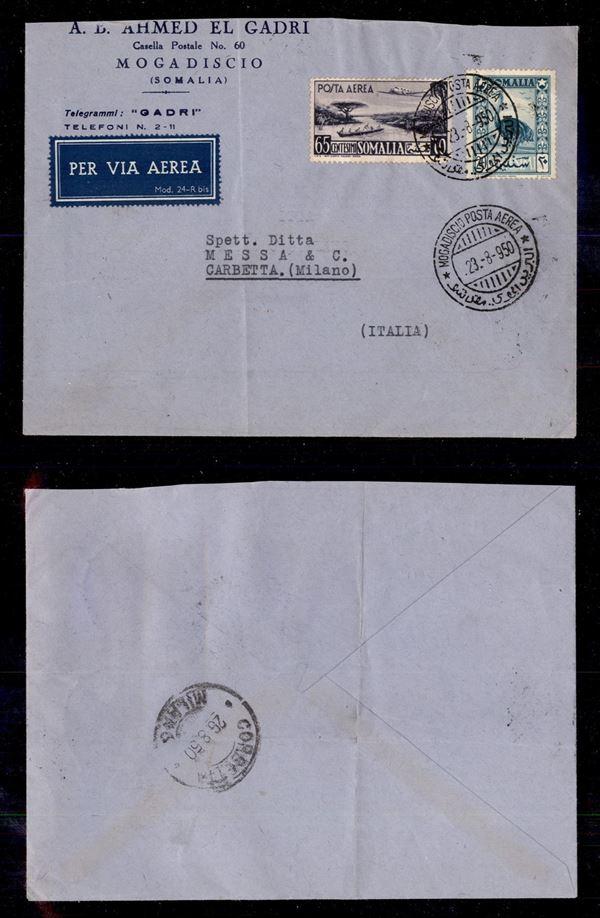 ITALIA / Colonie / Somalia A.F.I.S. / Aerogrammi