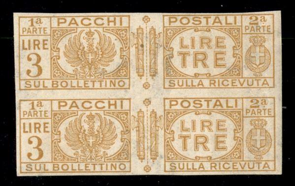 ITALIA / Regno / Pacchi postali