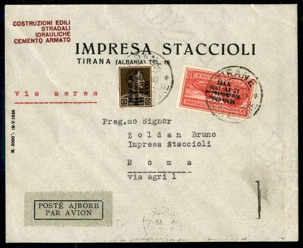ITALIA / Occupazioni II guerra mondiale / Albania / Posta ordinaria