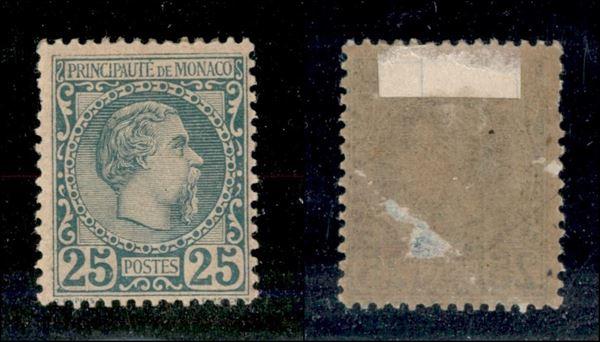 MONACO / Posta ordinaria  (1885)  - Asta Asta a Tempo - II - Auction Gallery
