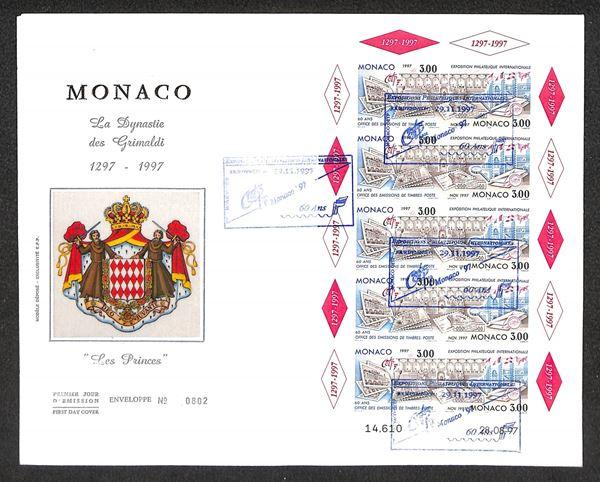MONACO / Posta ordinaria  (1997)  - Asta Asta a Tempo - II - Auction Gallery