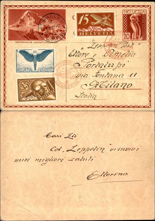 SVIZZERA / Aerogrammi