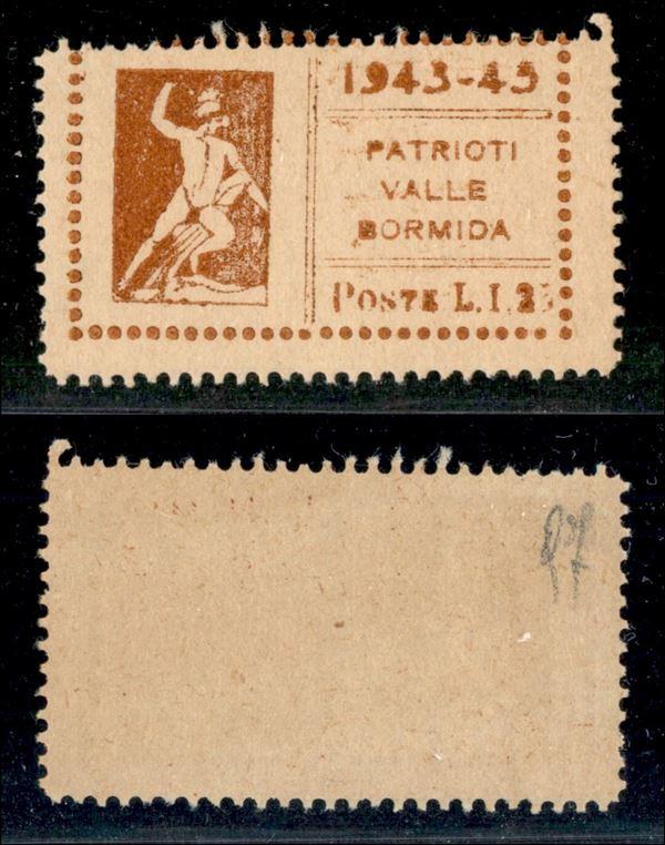 ITALIA / C.L.N. / Valle Bormida / Posta ordinaria