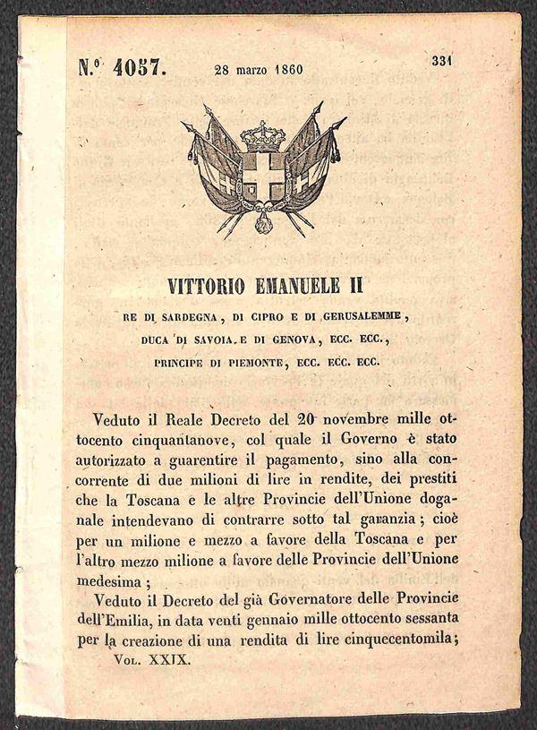 ITALIA / Antichi Stati Italiani / Sardegna