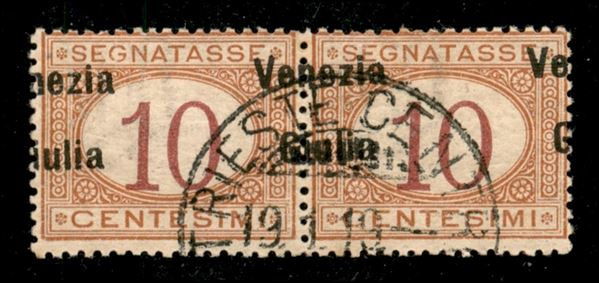 ITALIA / Occupazioni I guerra mondiale / Venezia giulia / Segnatasse